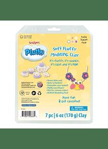 Sculpey Pluffy - Kit Arcilla Polimérica Blanda Pastel