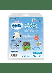 Sculpey Pluffy - Kit Arcilla Polimérica Blanda Primary