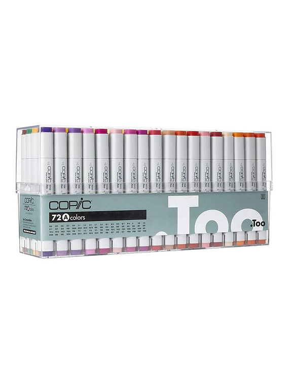 Copic Sketch - Set 72 Marcadores Colores A
