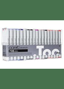 Copic Sketch - Set 72 Marcadores Colores D