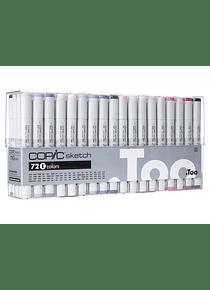 Copic Sketch - Set 72 Marcadores Colores E
