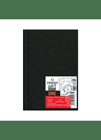 Canson Art Book One - Libreta 10,2 x 15,2 cm, 98 Hojas, 100 gr/m2