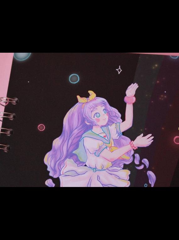Piyoasdf - Libreta Space Fuku 1