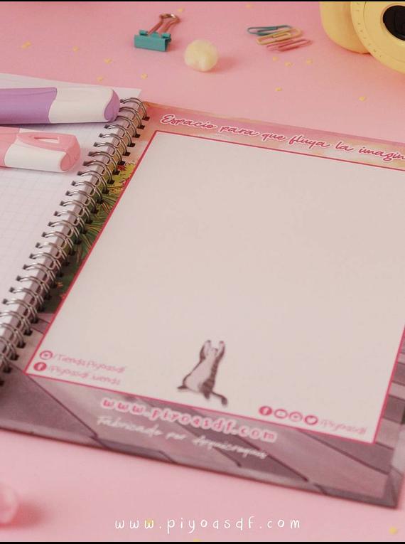 Piyoasdf - Cuaderno Gatitos Pacientes
