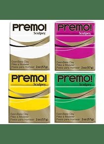 Sculpey Premo! - Arcilla Polimérica Colores 2 oz (57 g)