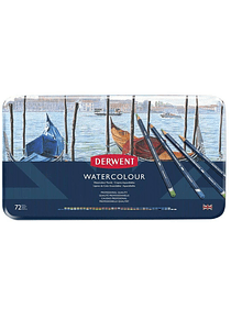 Derwent Watercolour - Set de 72 Lápices Acuarelables