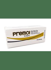 Sculpey Premo! - Arcilla Polimérica Blanco; 1 lb (454 g)
