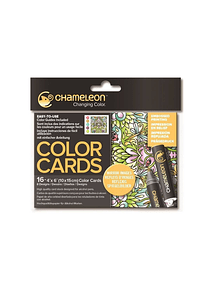 Chameleon Color Cards - Tarjetas para Colorear; Reflejos