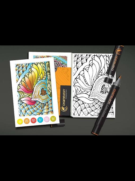 Chameleon Color Cards - Tarjetas para Colorear; Zen
