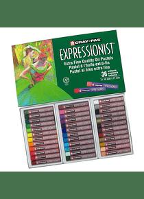 Sakura Cray-Pas - Set 36 Pasteles al Óleo Expressionist
