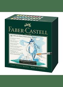 Faber-Castell Albrecht Durer Watercolor Markers - Set 30 Marcadores Acuarelables