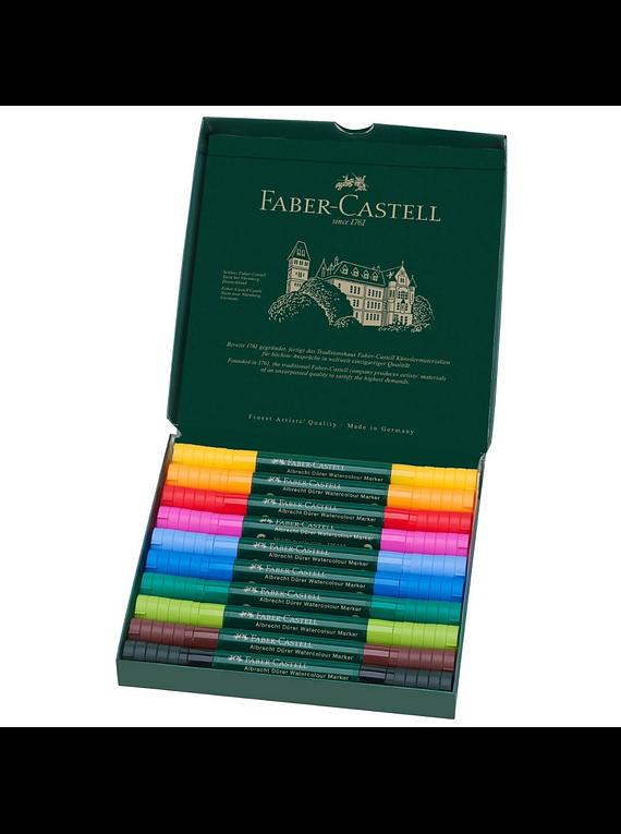 Faber-Castell Albrecht Durer Watercolor Markers - Set 10 Marcadores Acuarelables
