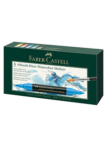 Faber-Castell Albrecht Durer Watercolor Markers - Set 5 Marcadores Acuarelables