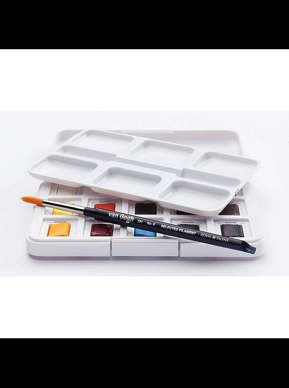Van Gogh Pocket Box - Set 12 Acuarelas Colores Básicos