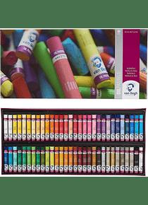 Van Gogh Oil Pastels - Set 60 Pasteles al Óleo