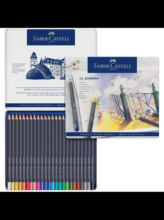 Faber Castell Goldfaber - Set 24 Lápices de Colores
