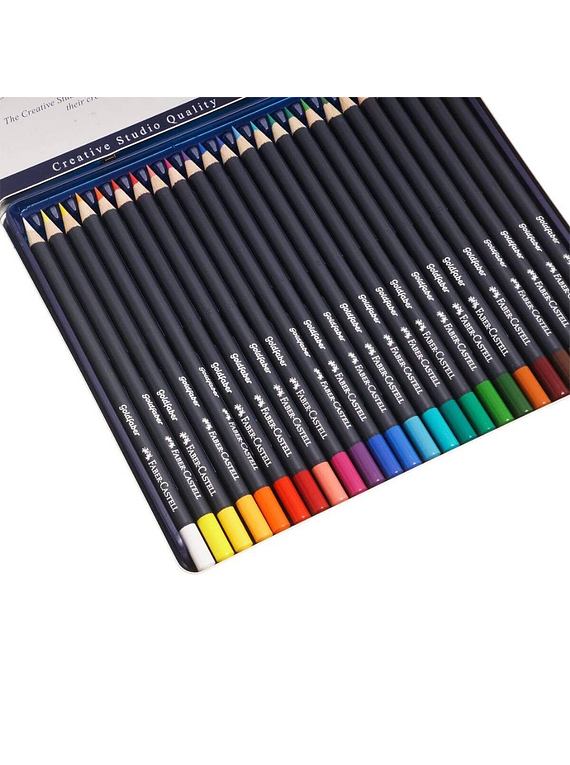Faber Castell Goldfaber - Set 24 Lápices de Colores