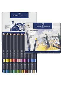 Faber Castell Goldfaber - Set 48 Lápices de Colores