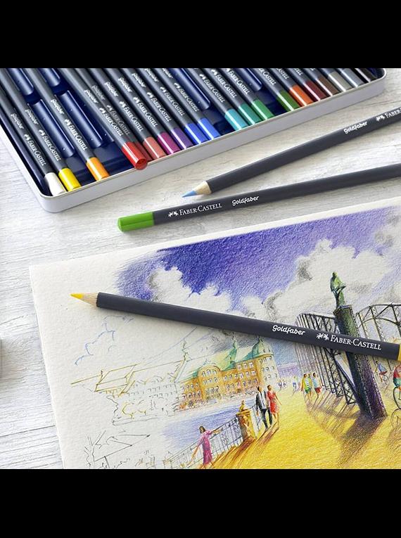 Faber Castell Goldfaber - Set 48 Lápices de Colores