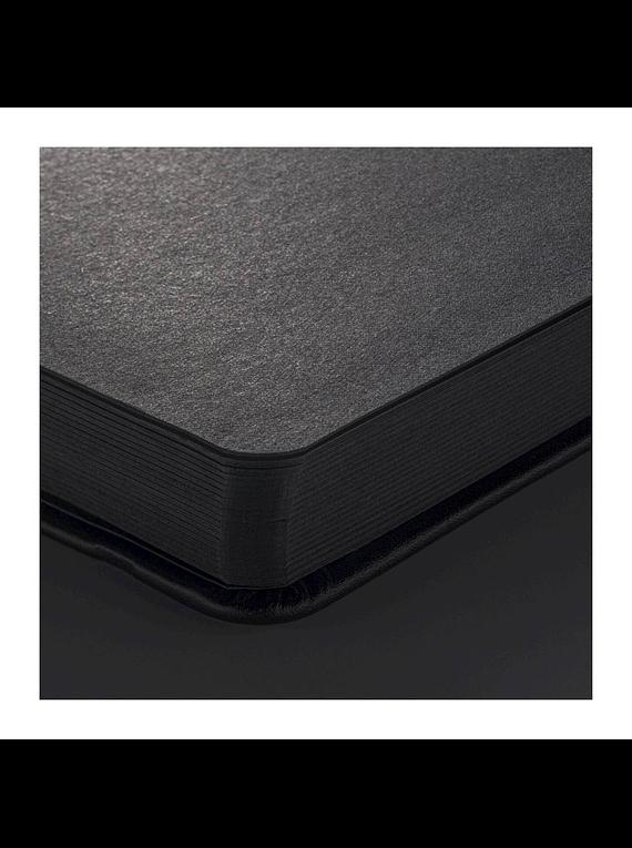 Sakura Sketch Note Book - Sketchbook Papel Negro, Horizontal; 21 x 15 cm, 80 Hojas, 140 g/m2