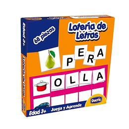 LOTERIA LETRA CARTON