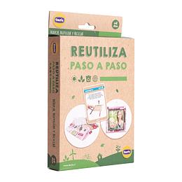 FLASH CARDS-LAMINAS DIDACTICAS RECICLAMOS:  REUTILIZA PASO A PASOS