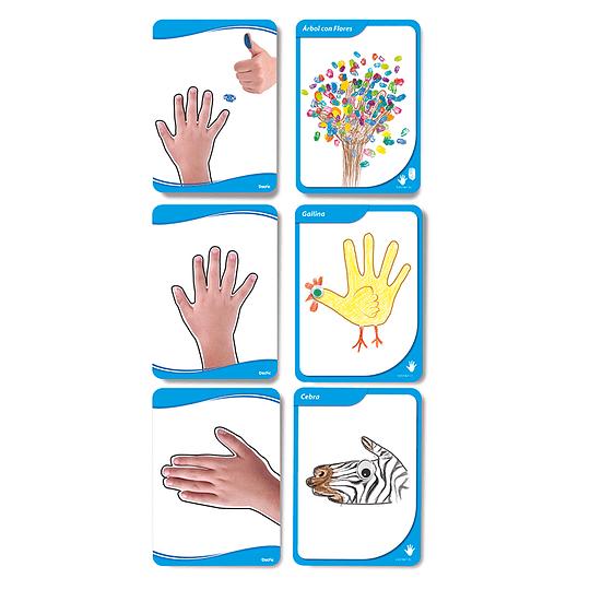 FLASH CARDS-LAMINAS DIDACTICAS MANOS AL ARTE