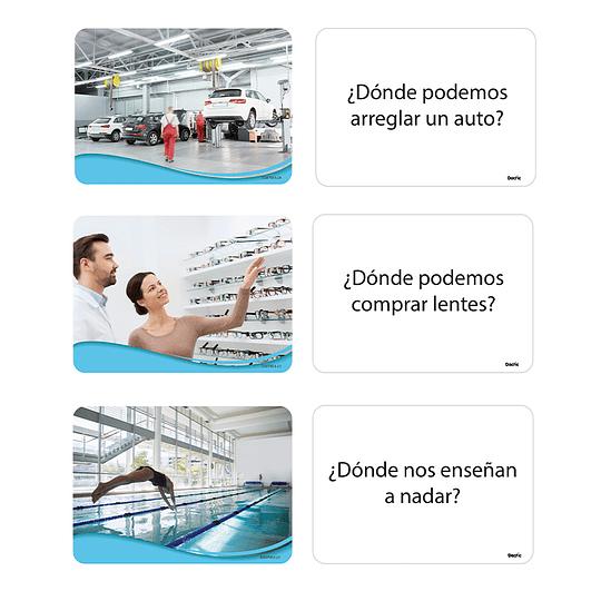 FLASH CARDS-LAMINAS DIDACTICAS PREGUNTAS Y RESPUESTAS