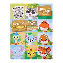 LIBRO CARAS DE ANIMALITOS