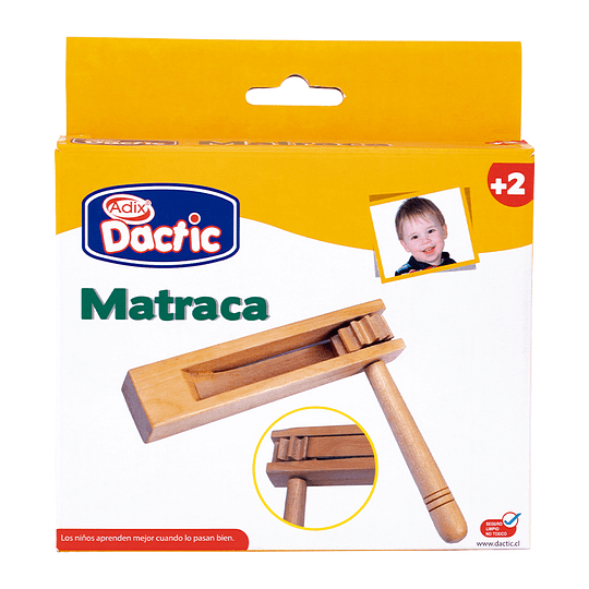 MATRACA DE MADERA