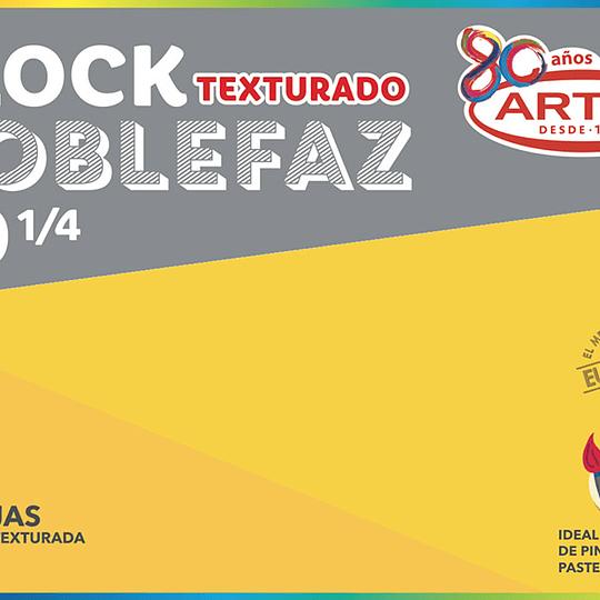BLOCK DE DIBUJO 1/4 99 20 HJS MEDIUM doble faz