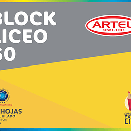 BLOCK DE DIBUJO LICEO 20 HJS