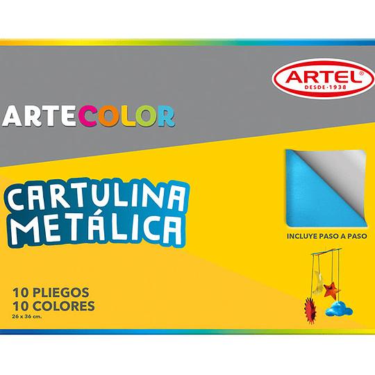CARPETA C/ CARTULINA METALICA