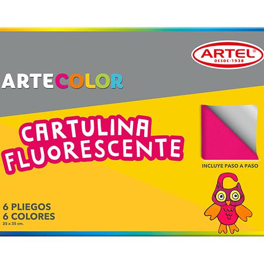 CARPETA C/CARTULINA fluorescente