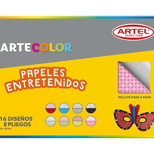 CARPETA C/PAPEL ENTRETENIDO