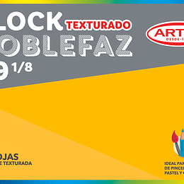 BLOCK DE DIBUJO 1/8 99  20 HJAS 99 MEDIUM doble faz