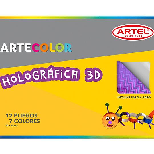 CARPETA C/PAPEL HOLOGRAFICO