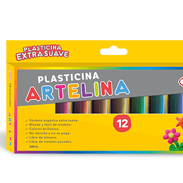 PLASTICINA ARTELINA ESTUCHE 12 COL.