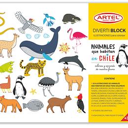 DIVERTIBLOCK ANIMALES DE CHILE