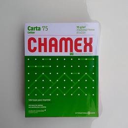 RESMA CARTA CHAMEX 75G/M2 500 HOJAS