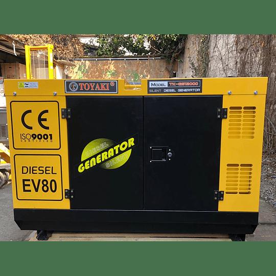 Generador Diesel Insonoro 12 Kva 220v  - Image 1
