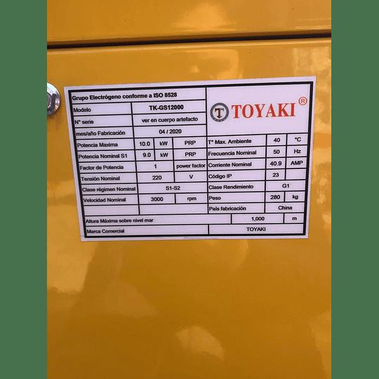 Generador Diesel Insonoro 10 Kw 220v  - Image 2