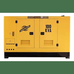 Generador Diesel insonoro 100 Kva , 80 kw Toyaki 220/380v .