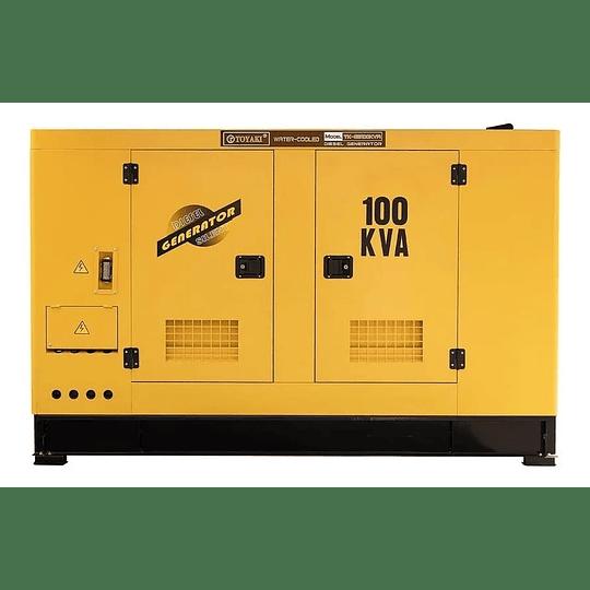 Generador Diesel insonoro 100 Kva , 80 kw Toyaki 220/380v . - Image 1