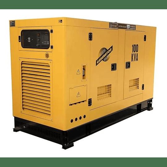 Generador Diesel insonoro 100 Kva , 80 kw Toyaki 220/380v . - Image 2