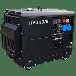 Generador Diesel insonoro  6/6.3 kw Hyundai 220v.