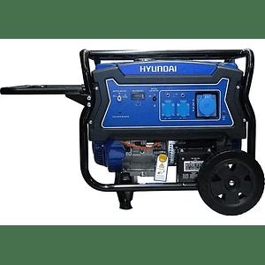 Generador a gasolina 5.5 kw Hyundai 220v.