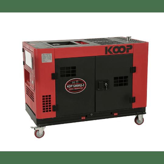 Generador Diésel insonoro  10 kw  KOOP 220v
