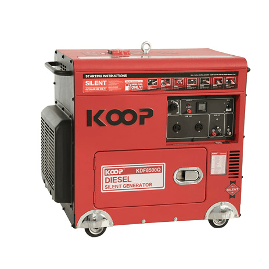 Generadores Diesel Insonoro 6 kw  koop 220v. - Image 1