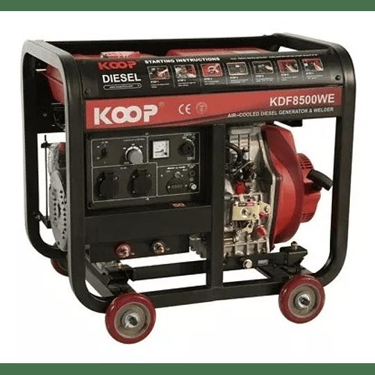 Motosoldador Diesel KOOP 200amp - Image 4